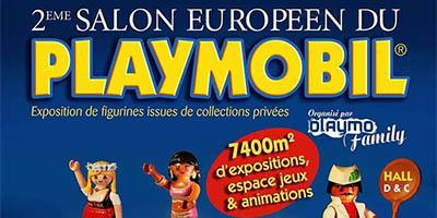 Calendrier Exposition Playmobil 2022 Salon Européen du Playmobil – L'Agenda Geek