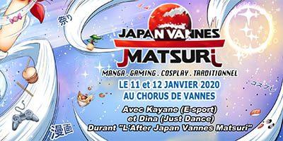 JAPAN VANNES MATSURI 2020