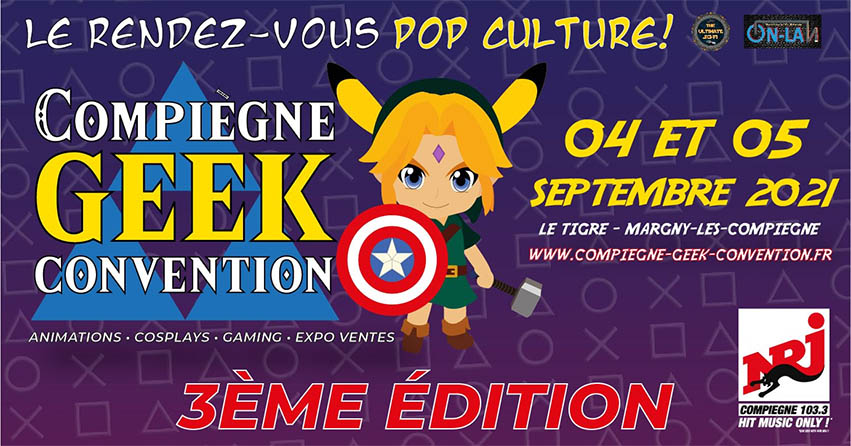 Compiègne Geek Convention 2021